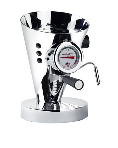 Casa Bugatti Diva Espresso Machine [Chrome]