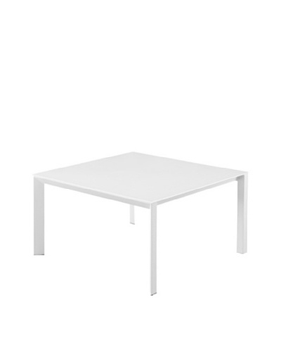 Casabianca Furniture Naples Dining Table, White