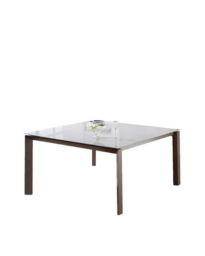 Casabianca Furniture Naples Dining Table, Taupe