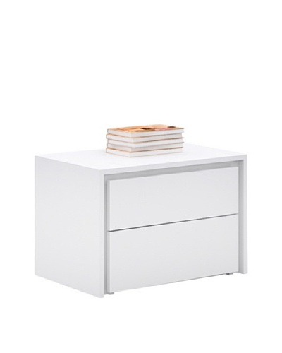 Casabianca Furniture Zen Nightstand, White