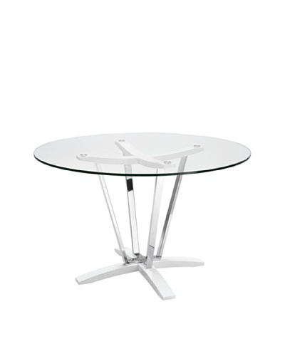 Casabianca Furniture Trevi Dining Table, White