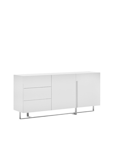 Casabianca Furniture Collins Buffet, White
