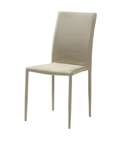 Casabianca Furniture Set of 4 Kimba Dining Chairs, Gray
