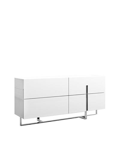 Casabianca Furniture Collins Dresser, White