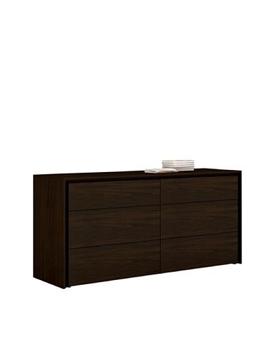 Casabianca Furniture Zen Dresser, Espresso