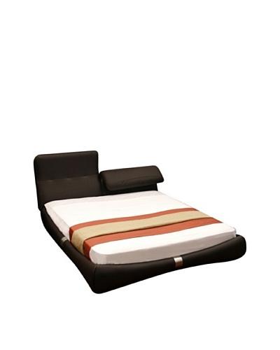 Casabianca Furniture Luxe Headboard & Bedframe, ChocolateAs You See