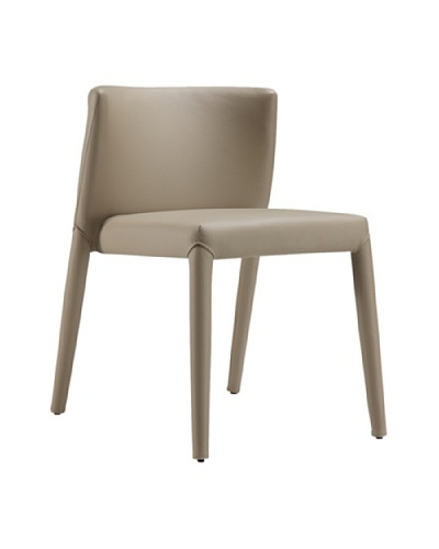 Casabianca Furniture Spago Dining Chair, Taupe Gray