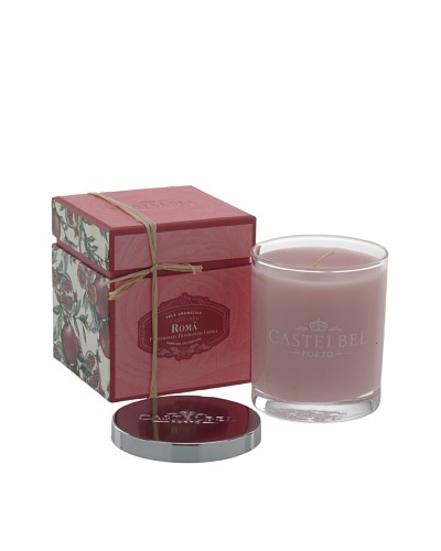 Castelbel 8-Oz. Pomegranate Candle In Glass Vessel