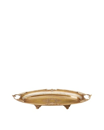 Castilian Tray [Antique Brass]