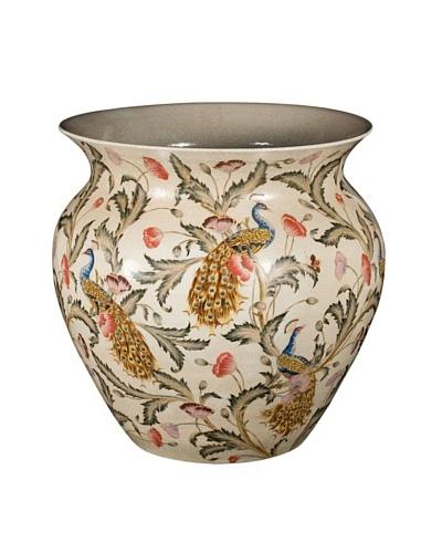 Castilian Floral Bowl, Beige