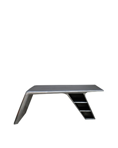 "CDI Aero Design Wing Desk  78""W x 41""D x 30""H"