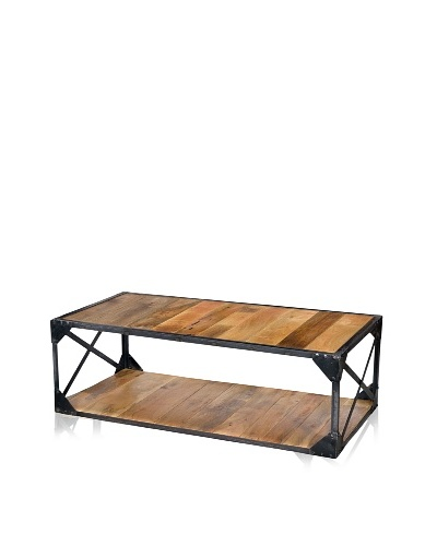 CDI Industrial Coffee Table, Natural