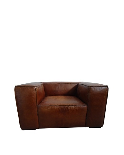 CDI Eaton Vintage Leather Chair, Brown
