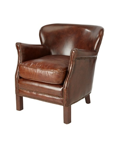 CDI Leather Professor Chair