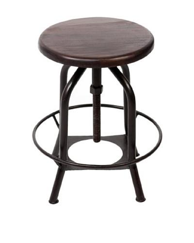 CDI Furniture New Industrial II Stool, Dark Grey