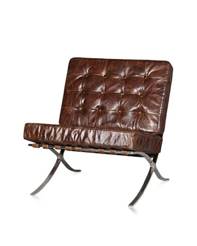 CDI Furniture Webb Modern Vintage Chair, Vintage Brown