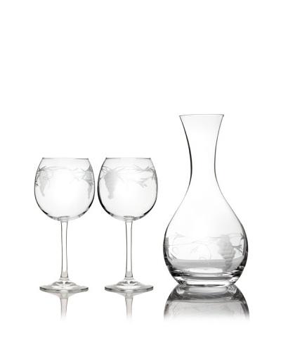 Susquehanna Glass 3-Piece Sonoma Grape Wine Set