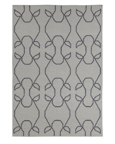 Chandra Astor Rug, Grey/Charcoal, 5' x 7'