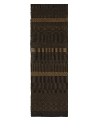 Chandra Kiri Rug, Brown, 2' 6 x 7' 6 Runner