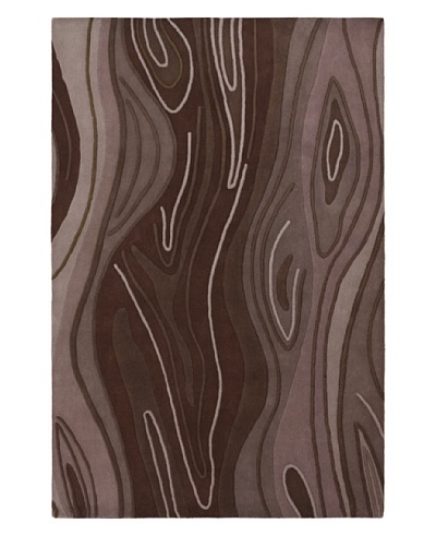 Chandra Inhabit Rug, Brown, 5' x 7' 6