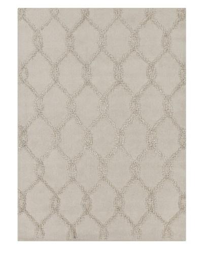 Chandra Araceli Hand-Tufted Rug, Sand, 5' x 7'