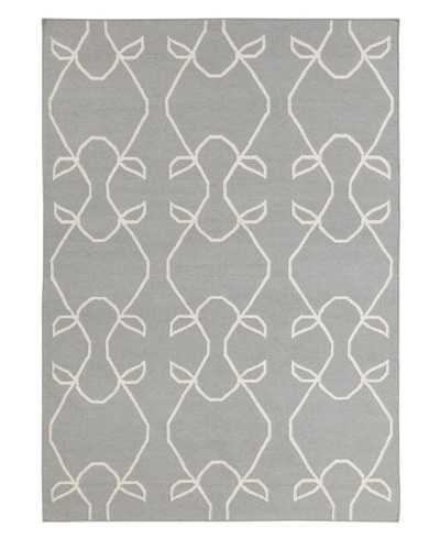 Chandra Stephanie Rug, Grey/Ivory, 5' x 7'