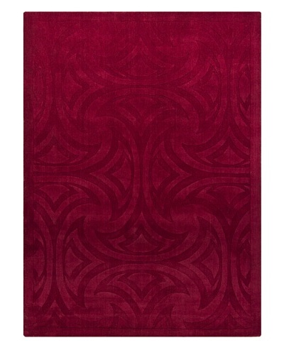Chandra Fausto Rug, Red, 5' x 7'
