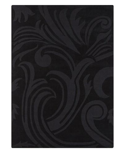 Chandra Midnight Rug, Black, 5' x 7'