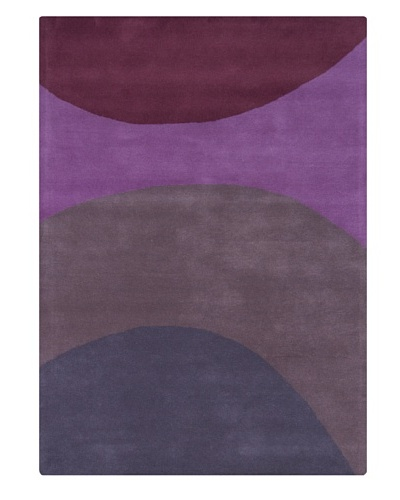 Chandra Alexa Rug, Purple, 5' x 7'