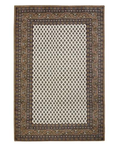 Chandra Walbrook Rug, White/Brown, 7' 9 x 10' 6