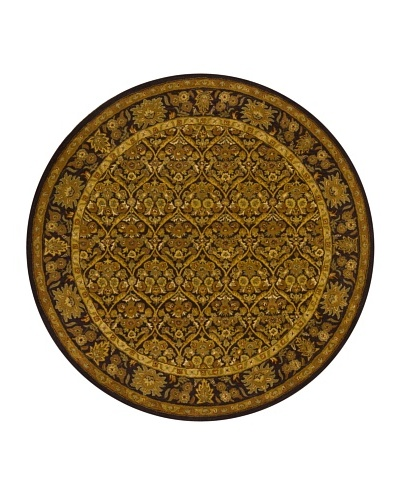 "Chandra Metro Rug, Brown, 7' 9"" Round"