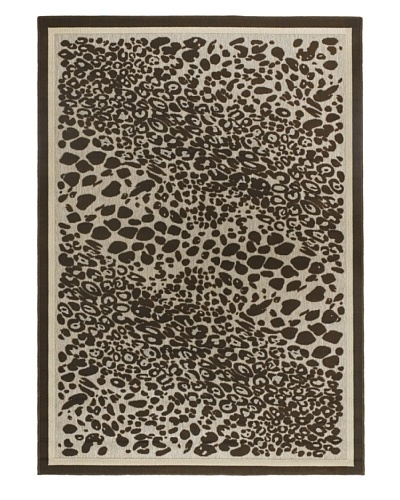 Chandra Calcutta Indoor/Outdoor Rug, Beige/Brown 3' 11 x 5' 7