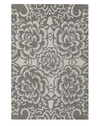Chandra Counterfeit Studio Hand Tufted Wool Rug [Grey]