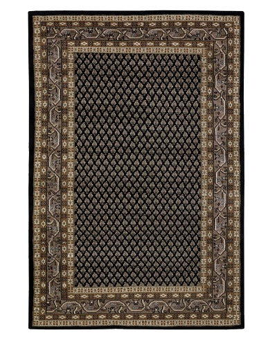 Chandra Walbrook Rug, Black/Brown, 7' 9 x 10' 6
