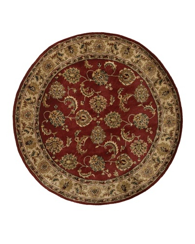 "Chandra Dream Rug, Burgundy, 5' 9"" Round"