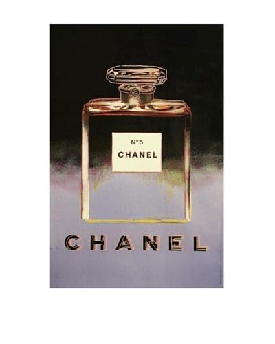 Rare CHANEL No. 5 Andy Warhol Ad Poster c1997