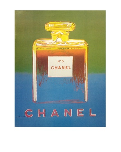 CHANEL No. 5 Andy Warhol Ad Poster c1997