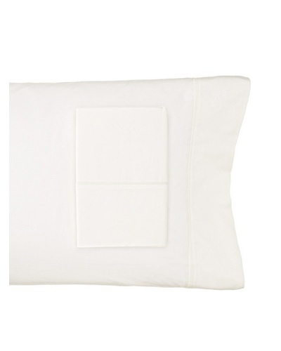 Charisma Lexington Solid Pillowcase Pair [Ivory]