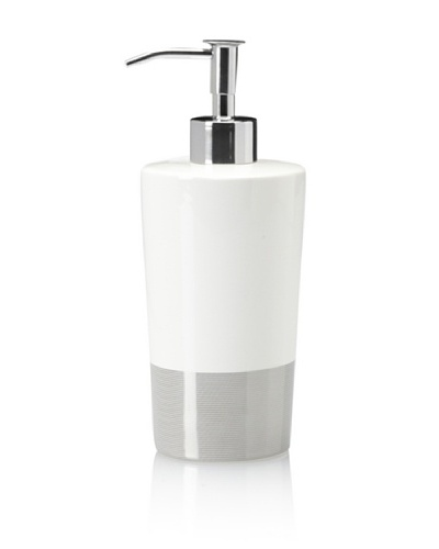 Charisma Classic Stripe Lotion Dispenser [White]