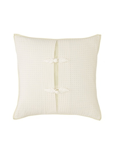 Charisma Marquette 18-Inch by 18-Inch Square Pillow [Green]