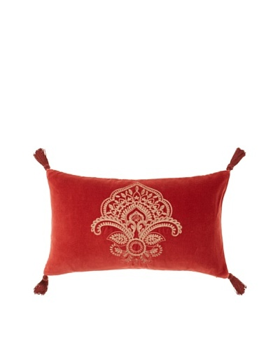 Charisma Paxton Pillow [Burnt Red]