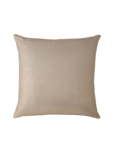 Charisma Venetian Square Pillow [Taupe]