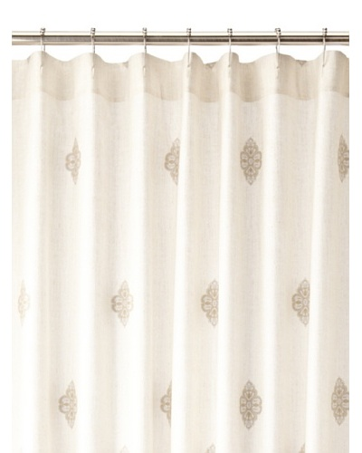 Charisma Marrakesh Shower Curtain, Pale Blue/Khaki, 72 x 72
