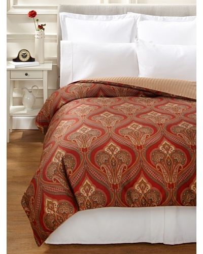 Charisma Paxton Duvet Cover [Red/Beige]