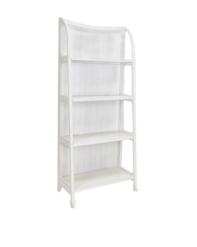 Charleston Display Stand, Whitewash