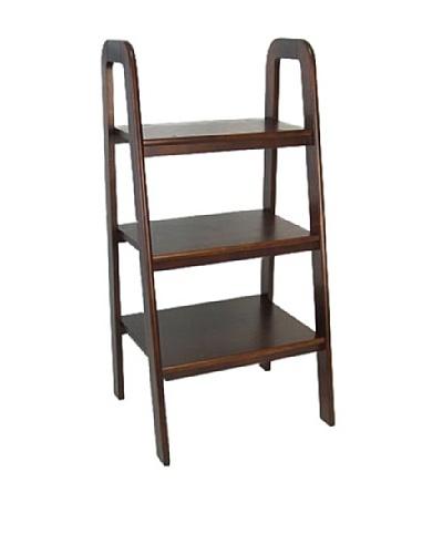 Charleston Ladder Stand, Brown