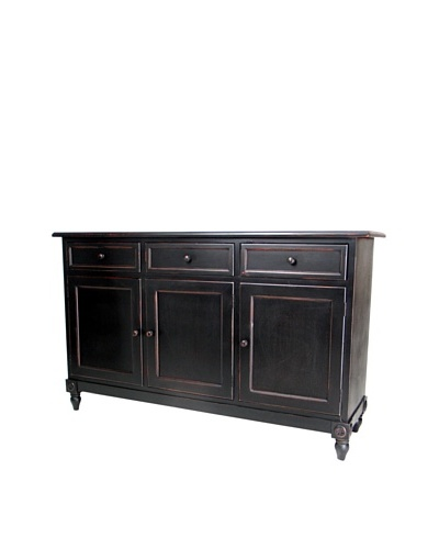Charleston Brookfield Console, Antique Black