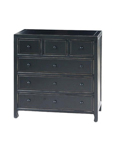 Charleston Suchow Dresser, Antique Black