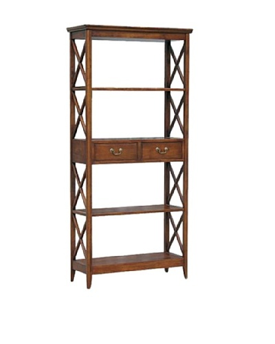 Charleston Eiffel Book Case, Brown
