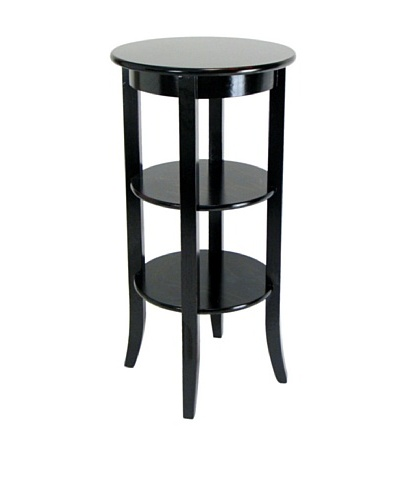Charleston Wallace Pedestal, Antique Black